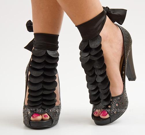 DIY PROJEKT: Abnehmbaren Schuhschmuck selber machen