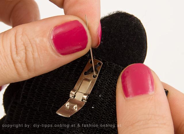 DIY PROJEKT: Abnehmbaren Schuhschmuck selber machen - Schritt 12 von 12